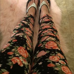 New floral cropped legging